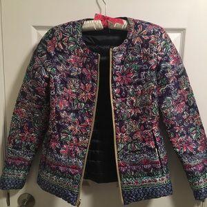 Lilly Pulitzer Lilah Reversible Coat/ Jacket